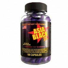 Asia Black 25 Ephedra Diet Pills 100 капс