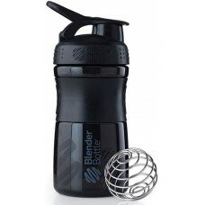 Шейкер Blender Bottle SportMixer MINI (Black) 590 мл