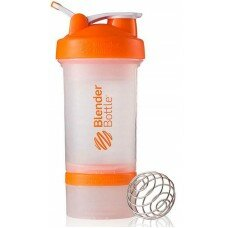 Шейкер Blender Bottle PROSTAK (650 мл.) WHITE-Orange