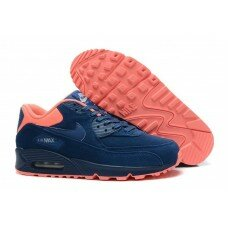 Nike Air Max 90 Suede Navy Blue Pink